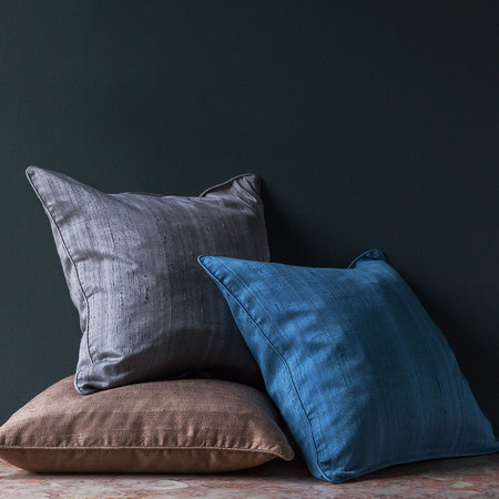Essentials - Silk Pillow - Mocha - 45x45cm