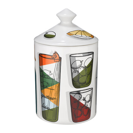 Fornasetti - Cocktail Candle - Otto - Small