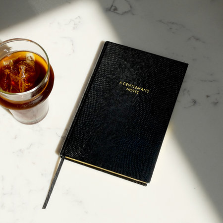 Sloane Stationery - Calepin A6 - «Notes d'un Gentleman»