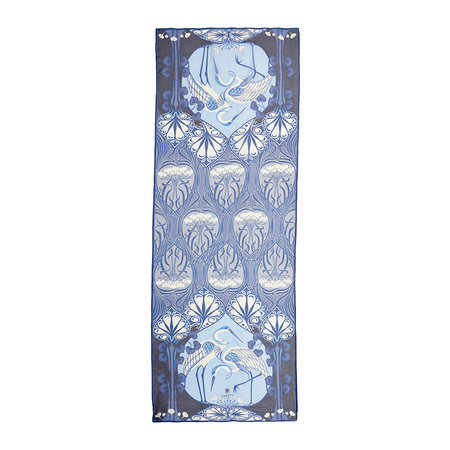 Liberty London - Heron Scarf - 70x180cm - Navy