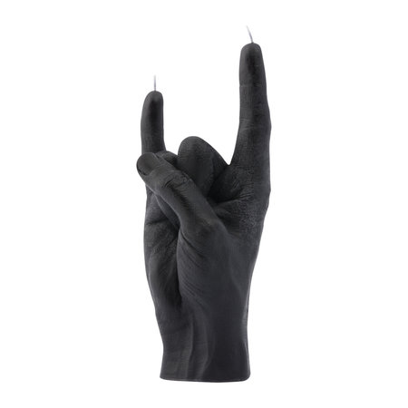 Candle Hands - 'You Rock' Candle - Black