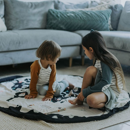 Play & Go - 2in1 Toy Storage and Play Mat - Map - World