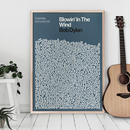 Reign & Hail - Blowin' In The Wind Print - A2