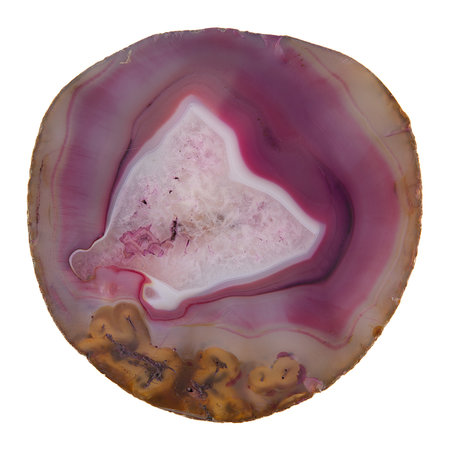 Luxe - Agate Coasters - Set of 4 - Pink