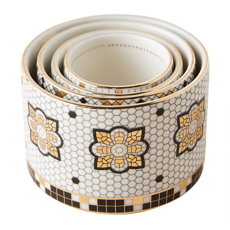 Anthropologie Home - Verres doseur Bistro Tile
