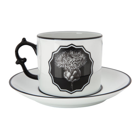 Christian Lacroix - Herbariae Teacup and Saucer - Set of 2 - White