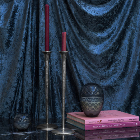 A by AMARA - Icicle Candlestick - Silver