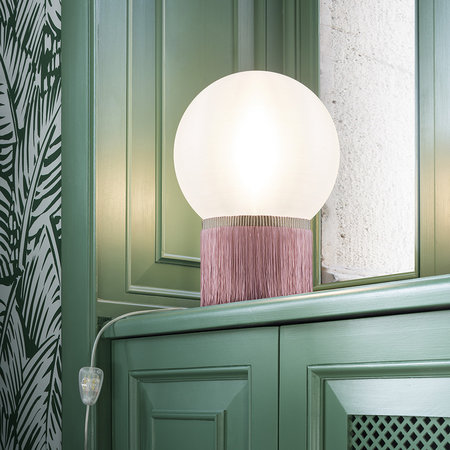 Slamp - Atmosfera Fringe Table Lamp - Rose