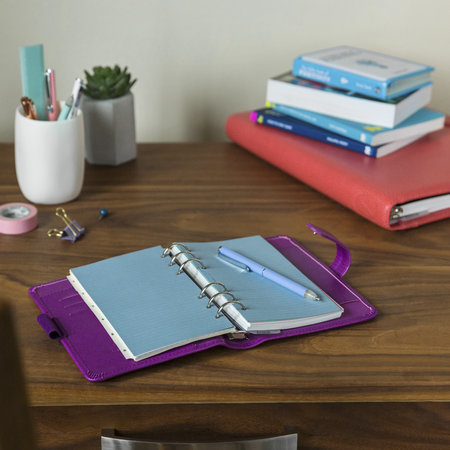 Filofax - Classic Clipbook Erasable Ball Pen - Vista Blue