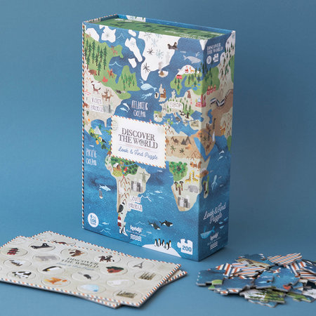 Londji - Discover The World Puzzle