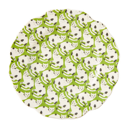 Anthropologie Home - 52 Conversation Canape Plate - Cat