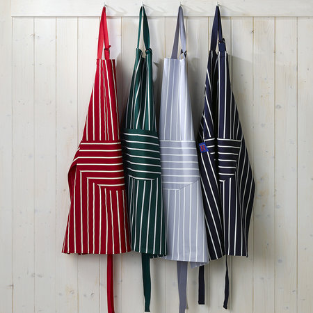 Dexam - Butchers Stripe Apron - Navy - Medium