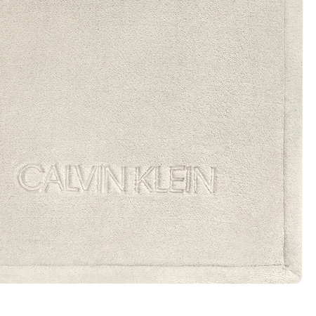 Calvin Klein - Michael Fleece Throw - 127x178cm - Oatmeal