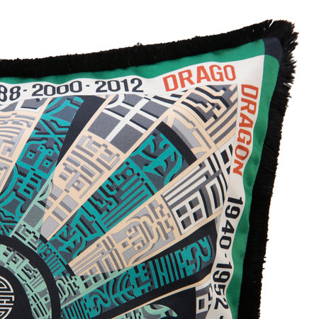 Missoni Home - Coussin réversible Oroscopo - 40x40cm - Dragon