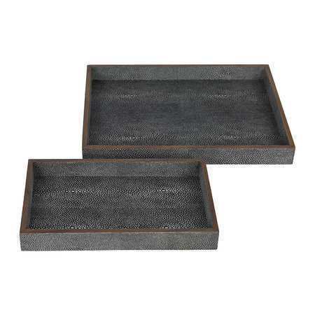 Pigeon and Poodle - Manchester Tray Set - Gray