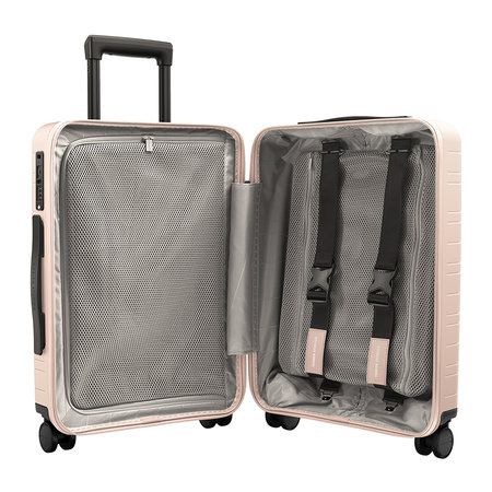 Horizn Studios - H5 Smart Hard Shell Cabin Suitcase - Pale Rose