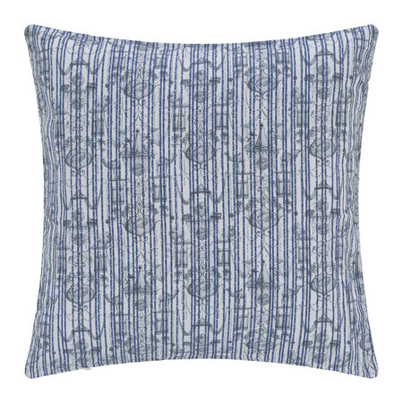 Zoeppritz since 1828 - Believe In Centuries Cushion - 40x40cm - Royal Blue