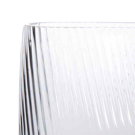 Nude - Opti Wide Vase - Clear - Tall