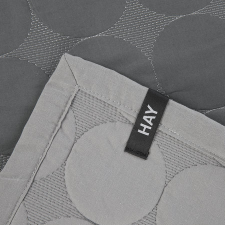 HAY - Mega Dot Throw - Dark Grey