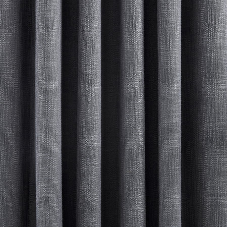 DKNY - Madison Lined Curtains - Charcoal - 228x228cm