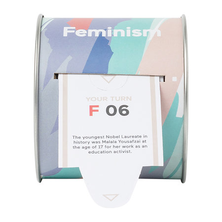 DOIY - 100 Facts Ticket Box - Feminism