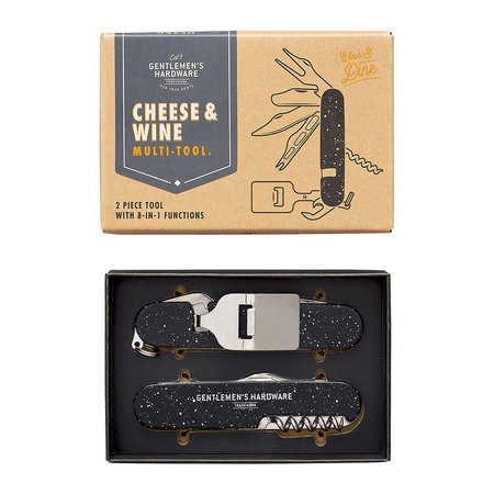 Gentlemen's Hardware - Cheese and Wine Multi-Tool