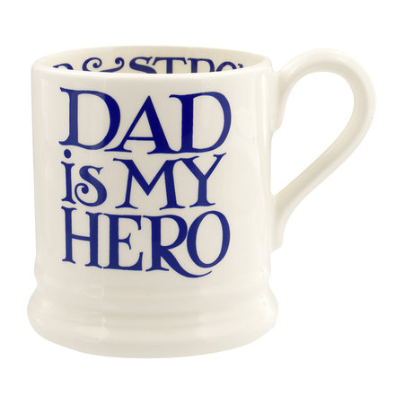 Emma Bridgewater - Blue Toast 'Dad is my Hero' Mug