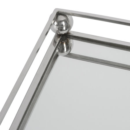 Luxe - Silver Mirrored Tray