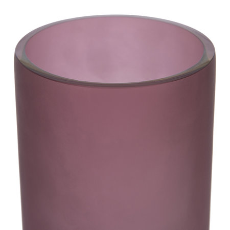 A by AMARA - Purple Thin Glass Vase - Large