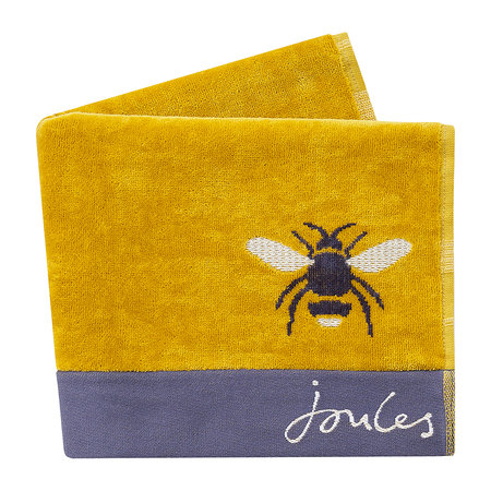 Joules - Botanical Bee Handtuch - Gold - Hand