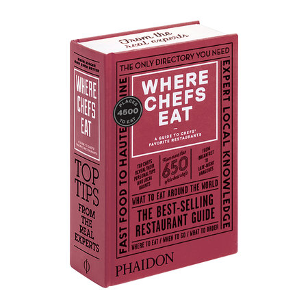Phaidon - Where Chefs Eat Book