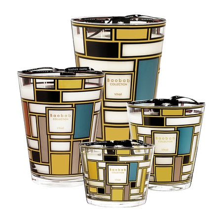 Baobab Collection - Vitrail Candle - 35cm
