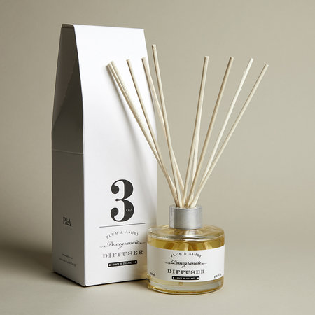 Plum & Ashby - Reed Diffuser - Pomegranate