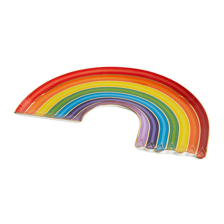 Jonathan Adler - Dripping Rainbow Trinket Tray - Multi
