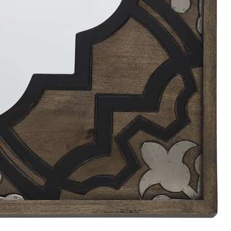 A by AMARA - Carved Wooden Wall Mirror