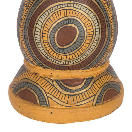Global Explorer - Terracotta Patterned Candle Stand