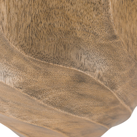 A by AMARA - Carved Wooden Bowl