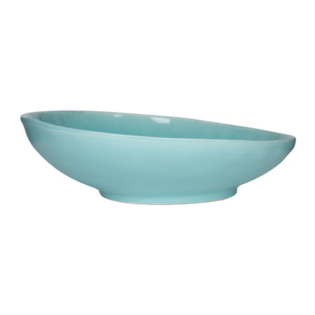ASA Selection - Beach Crackle Serving Bowl - Turquoise