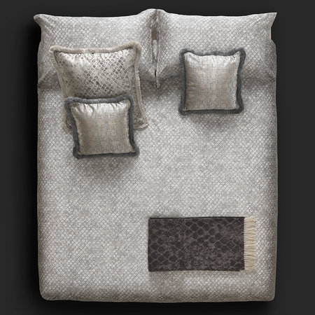 Roberto Cavalli - Limited Edition Flakes Bed Set - Super King