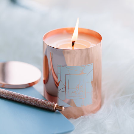 Lava Moments - Peppered Bliss Rose Candle