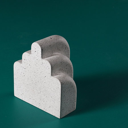 Moxon - Miss Bookend - Spotted White