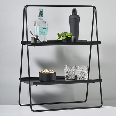 Zone Denmark - A-Table Shelving Unit - Black