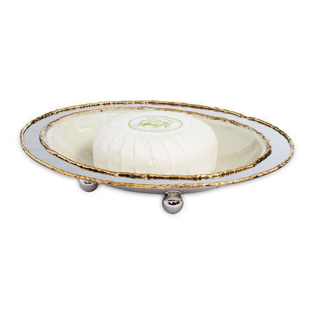 Julia Knight - Cascade Soap Dish - Cloud