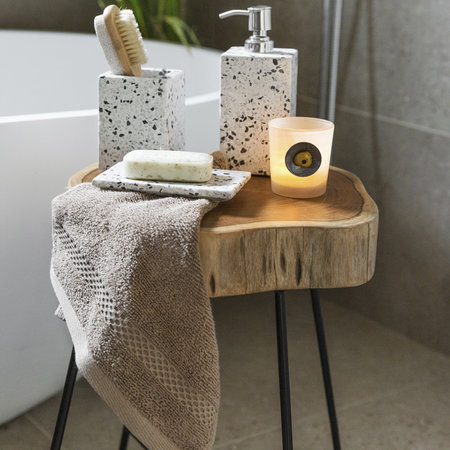 A by AMARA - Terrazzo Stone Soap Dispenser