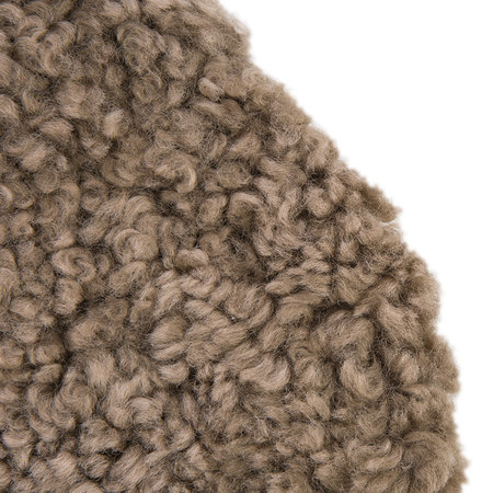Essentials - New Zealand Sheepskin Seat Pad - Short Wool Curly - Taupe