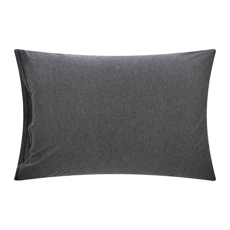 Calvin Klein - Classic Logo Pillowcases - Set of 2 - Heathered Charcoal