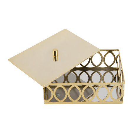 Villari - New York Cotton Box - Gold
