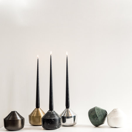 XLBoom - Laps Candle Holder - Brass