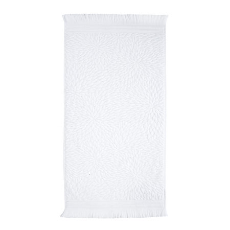 Anthropologie Home - Cece Towel - White - Hand Towel