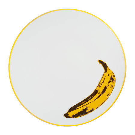 Ligne Blanche - Andy Warhol Plate - Banana